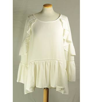 NWOT M&S Marks & Spencer Collection - Size: 20 - Ivory Blouse