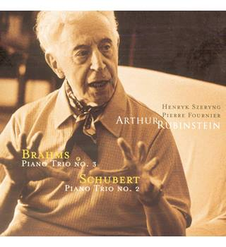 Brahms Piano Trio No.3, Schubert Piano Trio No.2 (CD album) Arthur Rubinstein, piano