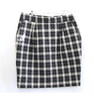 Jaeger - Size: 16 - Grey - Checked skirt