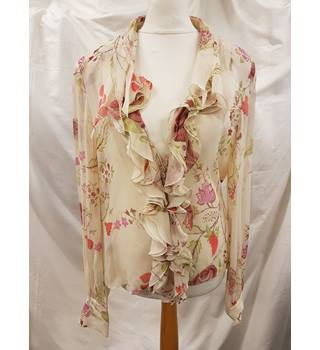 Vintage Ungaro Blouse Ungaro - Size: 14 - Multi-coloured - Blouse