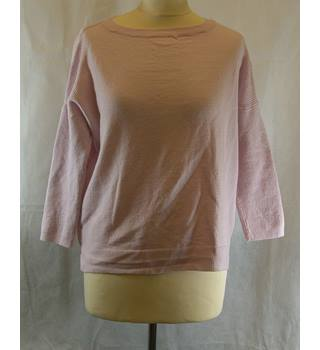 M&S Collection size: M pale  pink merino wool jumper