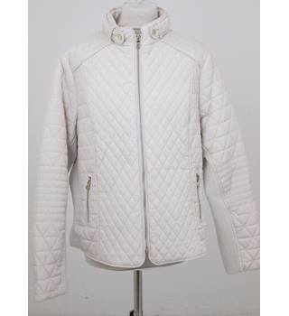 NWOT Per Una, size 16 cream quilted jacket