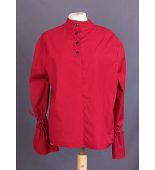 BNWT Marks&Spencer - Size: 10 - Red - Blouse