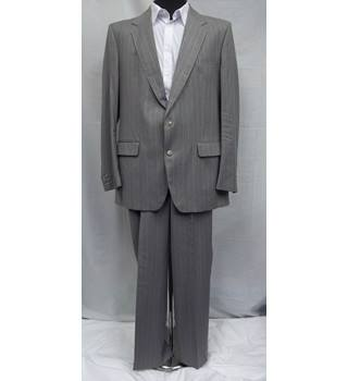Aquascutum grey Single breasted suit - Size: XL