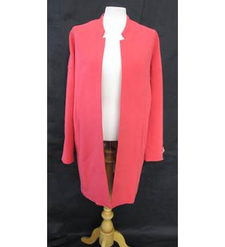Fastenless Jacket - Primark - Size: 8 - Pink - Smart jacket / coat