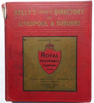 Kelly's directory of Liverpool 1960