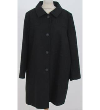 NWOT: M&S Collection: Size 20: Black overcoat