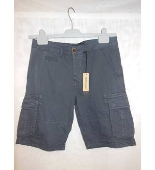 "Men's River Island Shorts, size 28"" River Island - Size: Small - Grey - Cargo shorts"
