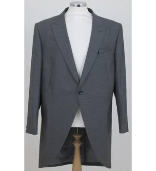 NWOT M&S Collection, size 44L grey tailcoat jacket