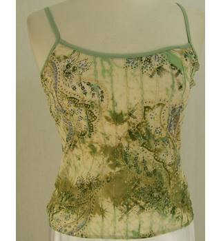 Per Una - Size: 14 - Green Mix - Embellished vest and bolero