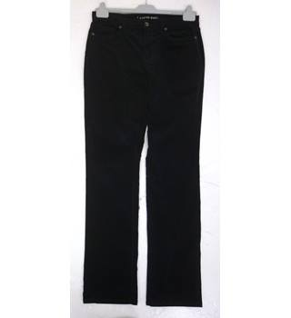 "BNWoT Lands' End Size: 14, 31"" W, 34"" L, straight fit Dark Blue Casual/Stylish Cotton Straight Leg Corduroy Jeans"