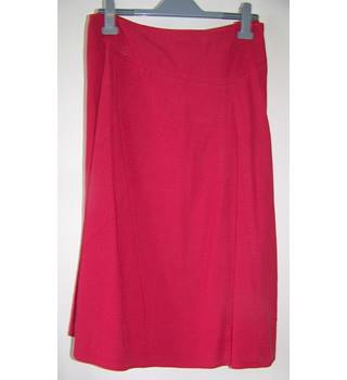Windsmoor - Size: 18 - Red - Calf length skirt