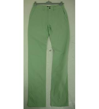 "Land's End Size: S, 31"" W, 39"" L, straight fit Pale Green Casual/Stylish Cotton Straight Leg Flat Front Chinos"