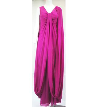 Ted Baker-Size 1-Medium Violet Red-Long dress Ted Baker - Size: 8 - Pink - Long dress