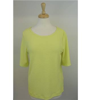 M&S Collection Size 12 Yellow Top