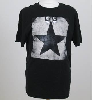 BNWT Converse size: M black with grey/cream short sleeved T-shirt