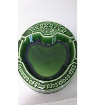 Devenish Cornish Pub Ashtray Green