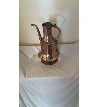 "Copper - 32"" - Jug - Arts and Crafts unknown"