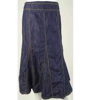 Hobbs - Size 8 - Blue denim skirt