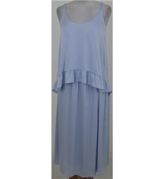 NWOT M&S Autograph size: 14 blue dress