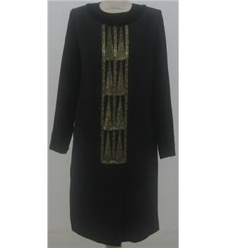 Unbranded size: M black with gold sequins retro dress