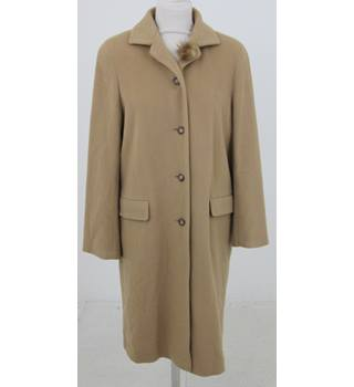 yet not vulgar innovative design limited quantity House of Fraser - Size: 14 - Camel coloured coat | Oxfam GB | Oxfam's  Online Shop