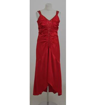 Dynasty Size:14 scarlet evening dress