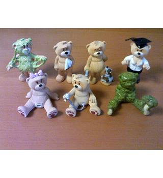 Bad Taste Bears Collection - 7 Piece Set