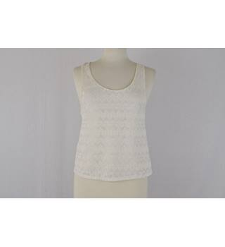 Detailed vest River Island - Size: 12 - White - Vest