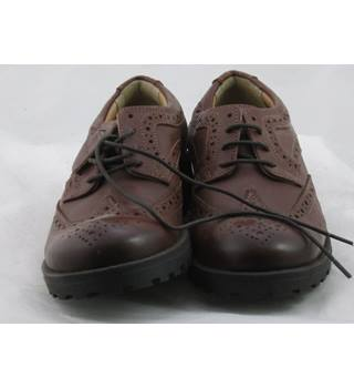 NWOT M&S Kids, size 12/30.5  brown leather brogues