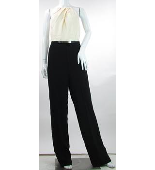 Ted Baker Size 8 (Ted Baker size 1)  Cream and Black Jumpsuit