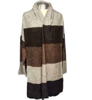 M&S Marks & Spencer - Size: L - Multi-coloured - Cardigan Pashmina