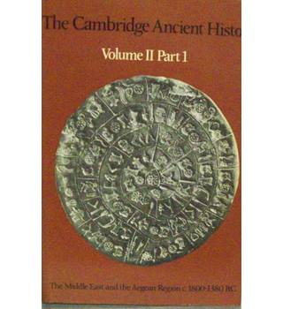 The Middle East & Aegean 1800- 1380 BC.The Cambridge ancient history Vol II Part 1