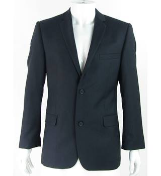 Ted Baker Endurance - Size: 40R - Navy Blue - 100% Wool - Single breasted suit jacket