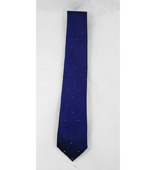 BNWOT M&S blue  silk tie with sparkles.