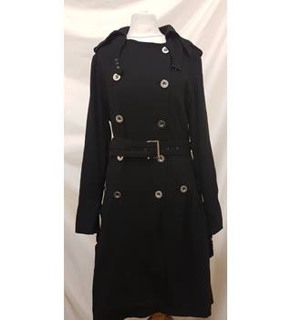 Marc Jacobs Coat Marc Jacobs - Size: 12 - Black