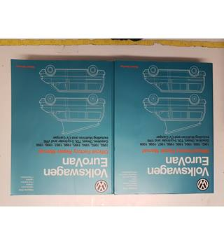 Volkswagen Eurovan Official Factory Repair Manual VOL 1 and 2