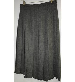 Marks & Spencer long black mix skirt size 16