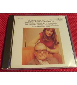 Dmitri Shostakovich 24 Preludes,Sonata no 2,Concertino,3 Fantastic Dances, From the Bedbug, Inger Wikstrom SCD 1031 Swedish Soc