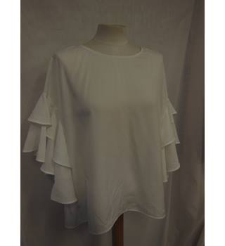 M&S Collection Ladies Top, White, Size 20 M&S Marks & Spencer - Size: 20 - White - Blouse