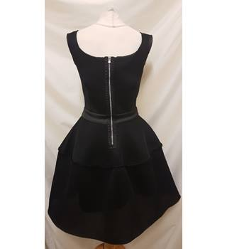 Maje Black Dress Maje - Size: 6 - Black