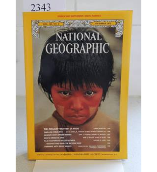 National Geographic Volume 142 Number 4 October 1972