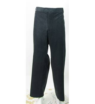 "BNWOT M&S Collection - Size: 50""/31"" - Dark Grey - Premium Cotton With Stretch Tailored Fit Trousers"