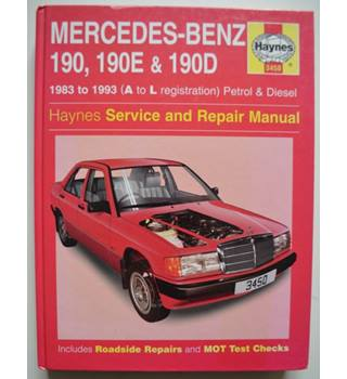 Haynes - Mercedes-Benz 190, 190E & 190D (83-93) service & repair manual