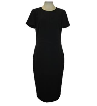 BNWOT M&S Marks & Spencer Collection - Size: 10 Regular- Black - Calf length