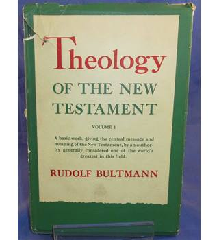 theology of the new testament volume 1