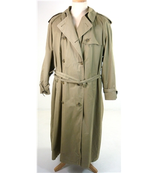 Aquascutum Size: 14 Trench Designer Coat With Detachable Wool Liner