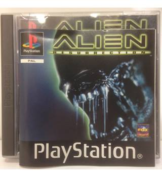 Alien Resurrection PS ONE