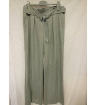 M&S Collection Ladies Trousers, Grey mix, size 14 Reg. M&S Marks & Spencer - Size: M - Grey - Trousers