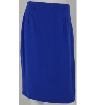 Betty Barclay Bright Blue Knee-Length Skirt UK Size 16